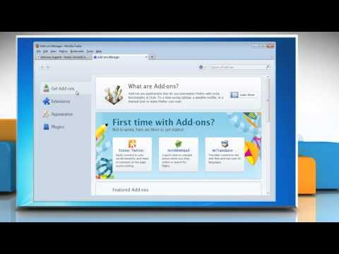 Mozilla® Firefox: How to Uninstall Babylon Toolbar