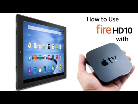 Amazon Fire HD10 Tablet - How to Use with Apple TV