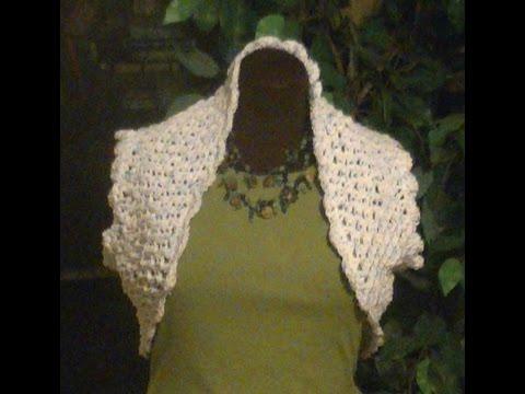 Crochet Summer Bolero / Shrug - Crocheting With Niler