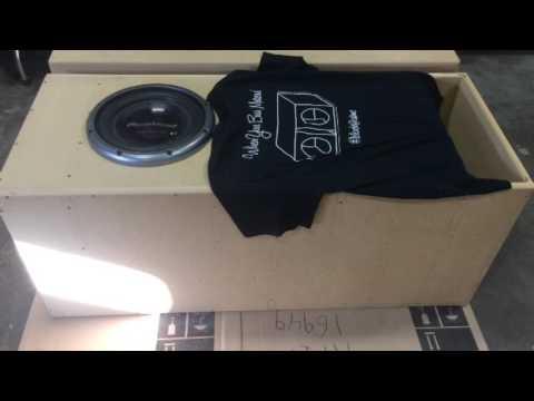 T-Line Subwoofer Box Teaser for 12