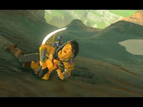 Zelda Breath of The Wild - Link Secret Mini Game!