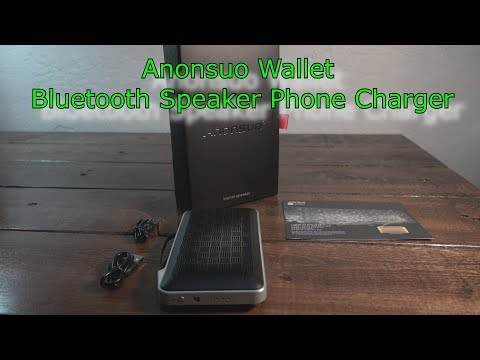 Anonsuo Bluetooth speaker review Android Iphone
