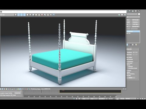 Kingstown Four Poster Bed -p1