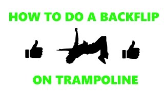 How to do a Backflip without bieng scared