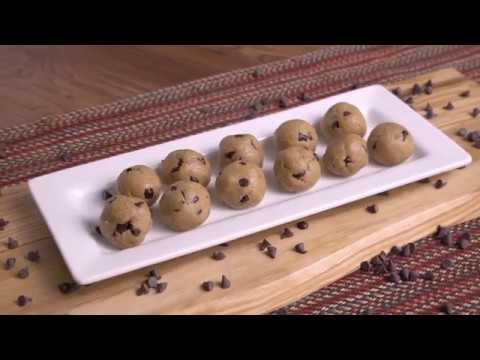 Cookie Dough Protein Balls! - Mind Over Munch