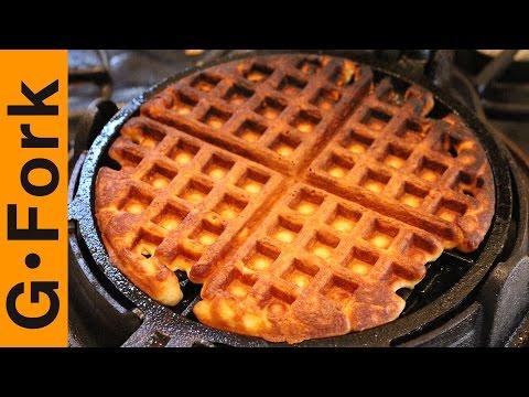 How To Make Homemade Waffles - GardenFork