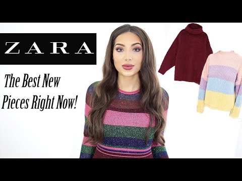 ZARA Haul & Try On    The Best New Pieces To Buy Right Now!!