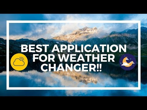 Auto background weather changer in picture !!!🔥🔥🔥