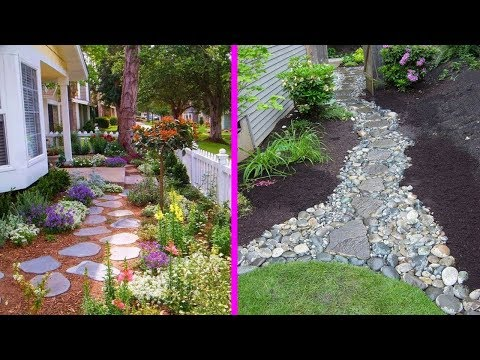Front Walkway Landscaping Designs Ideas - Homes and Gardens Path