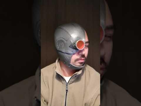 One-day-build, cyborg halfhead