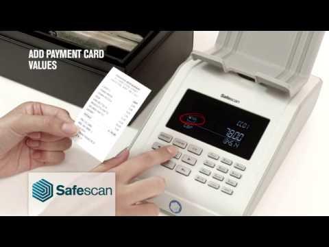 Safescan - 6185 Coin & Banknote Counter