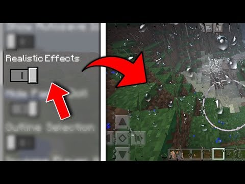 Minecraft PE - Realistic Effects