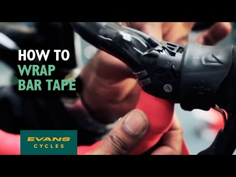 How to wrap bar tape