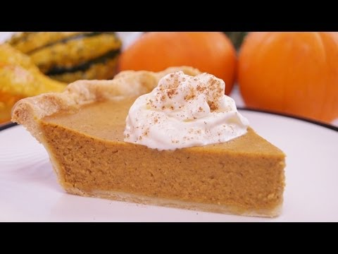 Pumpkin Pie Recipe: From Scratch: How To Make Homemade Pumpkin Pie! Dishin' With Di #111