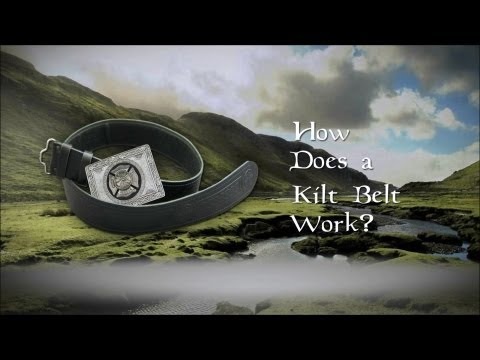 How does a Kilt Belt work