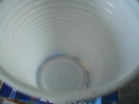 homemade speaker using a plastic cup