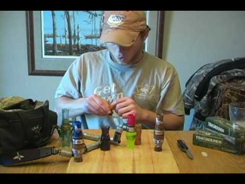 Putting Together a Short Reed Goose Call with Hunter Grounds