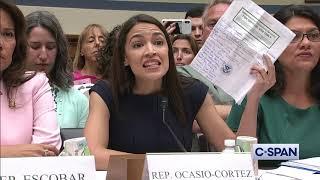 Representative Alexandria Ocasio-Cortez: