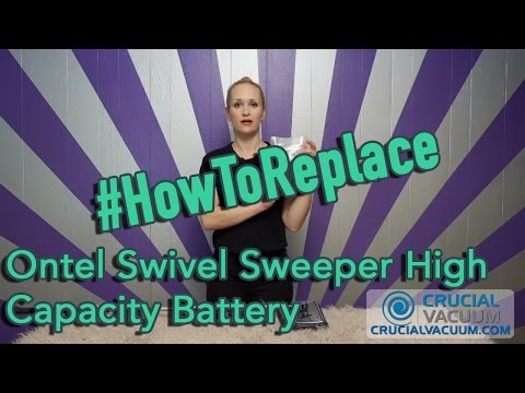 Replace Your Ontel Swivel Sweeper High Capacity Battery