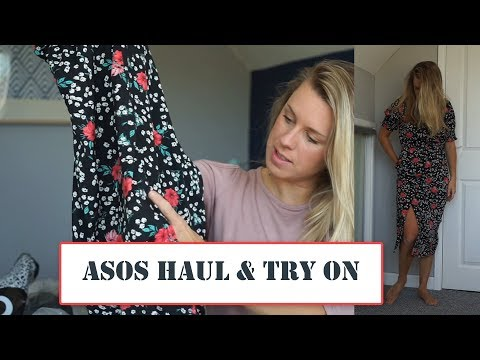 ASOS HAUL AND TRY ON