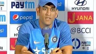 I enjoyed the journey: Dhoni on captaincy