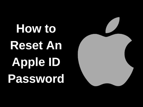 How to Reset an Apple ID Password