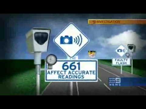 9 NEWS \ WARNING OVER SPEED CAMERAS