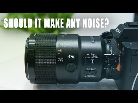 Calling Sony about my Sony 90mm F2.8 OSS MACRO  