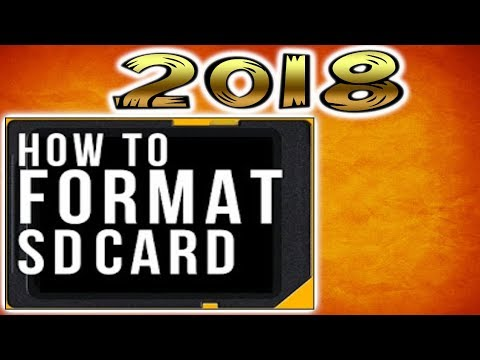 How to Format SD Card on Mac | 2018  { Fixing Storage Issue } MacOS High Sierra
