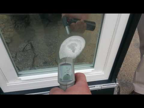 Window World demonstration freeze test and torch test