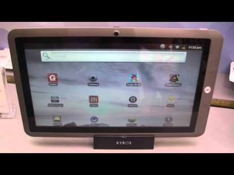 Coby Tablet Booth Walkthrough at IFA 2011