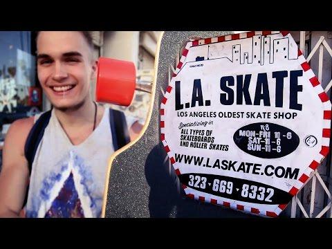 DREAM COME TRUE: Buying a custom made longboard from LA