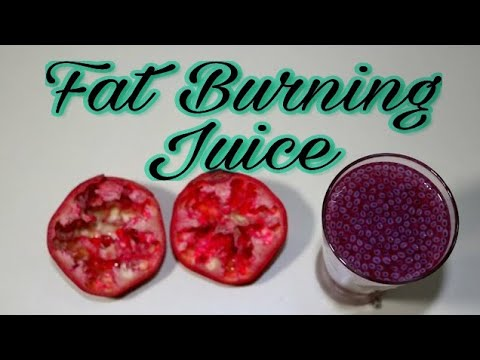 Fat Cutter Drink/How To Make Homemade Pomegranate and basil seeds Juice-Drinks Made Easy/sunil kumar