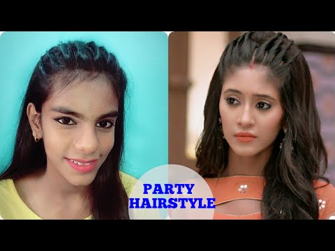 How to make Party Hairstyle in 2 min Indian Hairstyle| Simple & Quick Party hairtyle for medium hair