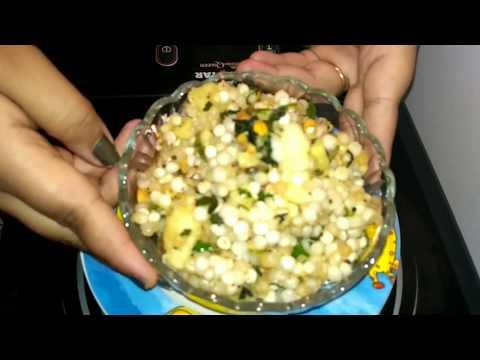 Sabudana khichadi, sago pulaw, Sabudana poha recipe in Hindi, vrat recipe, fasting recipe in Hindi