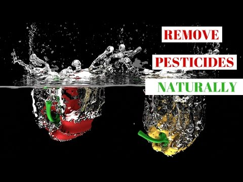 How To Naturally Remove Pesticides from Fruits & Vegetables