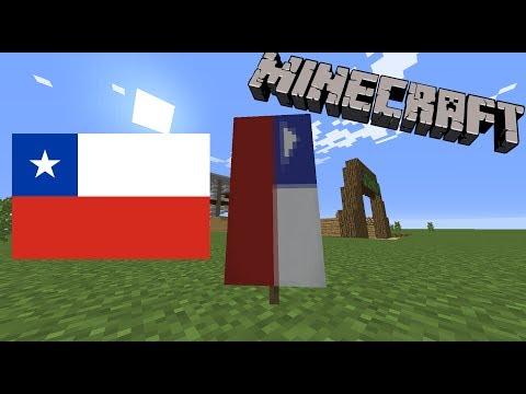 How to make a Chilean Flag in Minecraft!