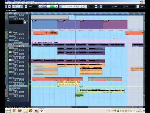 Cubase 5 my emotional ambient composition