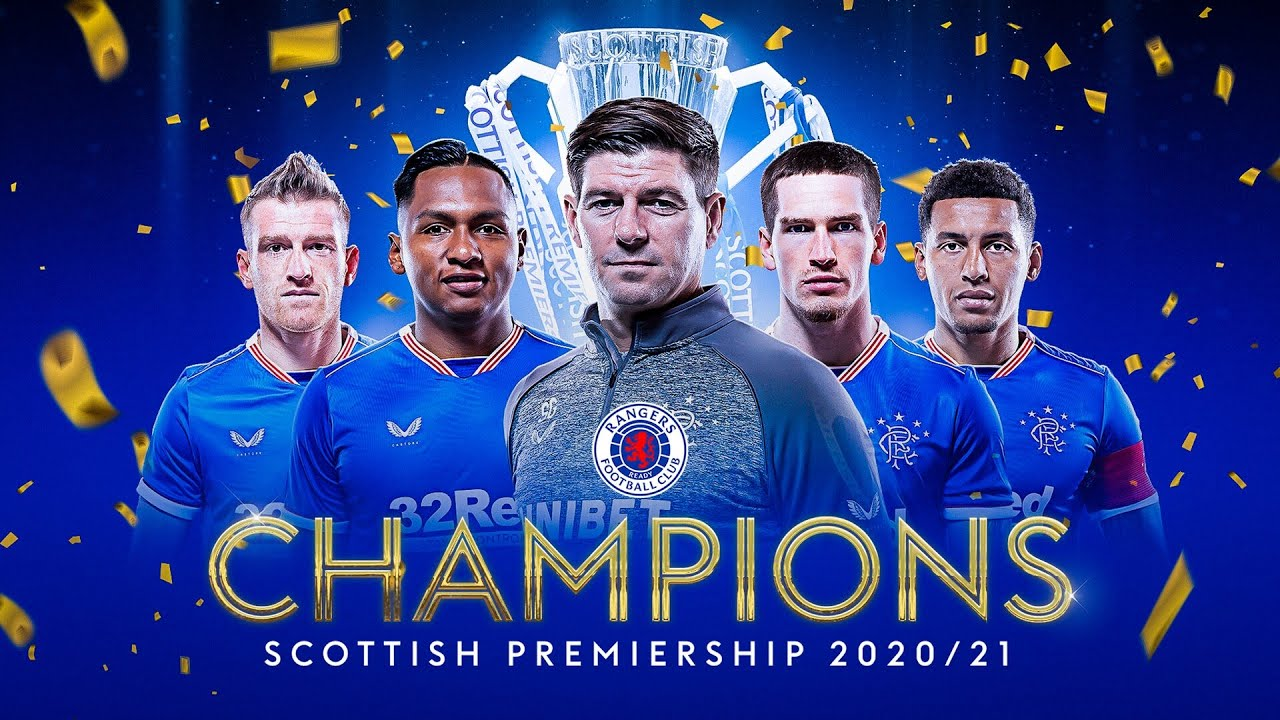 Rangers How the League Was Won