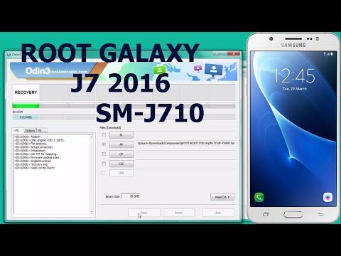 ROOT GALAXY J7 2016   SM-J710F ROOT TUTORIAL  