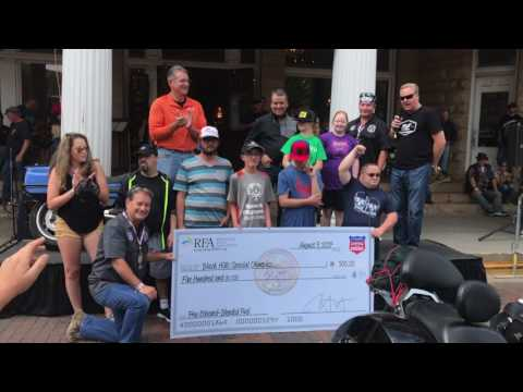2017 Sturgis Legends Ride Special Olympics Donation