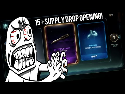 'ARE YOU SERIOUS' 15+ Supply Drop Opening! (Black Ops 3 Multiplayer)