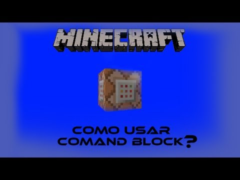 Minecraft- TUTORIAL-Command Block(TELEPORT)