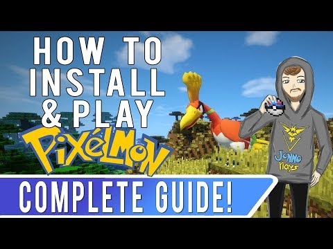 HOW TO INSTALL PIXELMON! Minecraft Pixelmon Guide for New Players!
