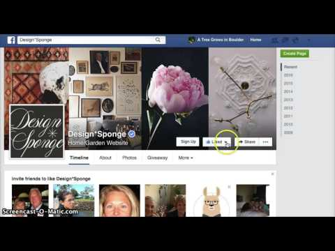 How to Follow a Business's Page on Facebook