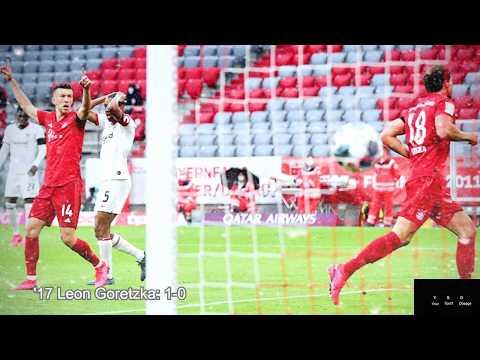 Bayern Munich vs Eintracht Frankfurt 5-2 // Game In Photos // BundesLiga // May 2020