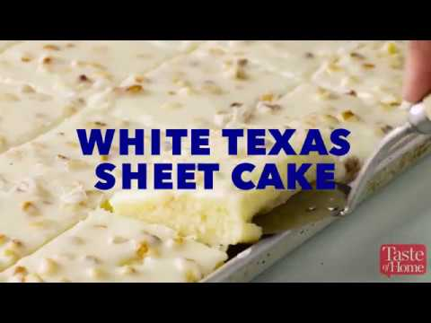 Texas White Sheet Cake