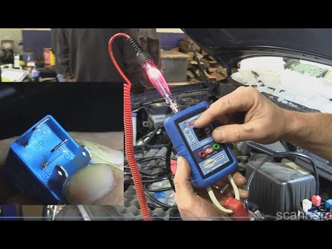 No Start Testing Basics - Spark, Injector Pulse and Fuel Pressure (Hyundai Santa Fe)