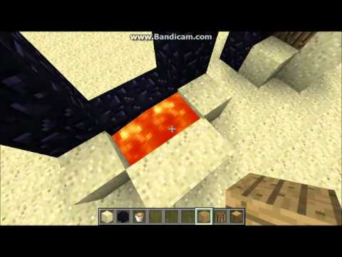 Minecraft - Skyblock 2 / 2.1 - Light a Nether portal with lava