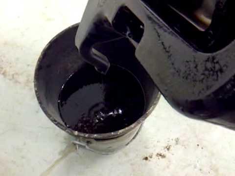 Draining The Drip Tray